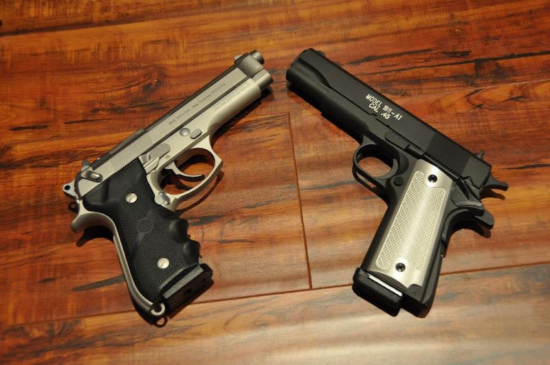 Beretta 92FS or 1911? [Archive] - Calguns net