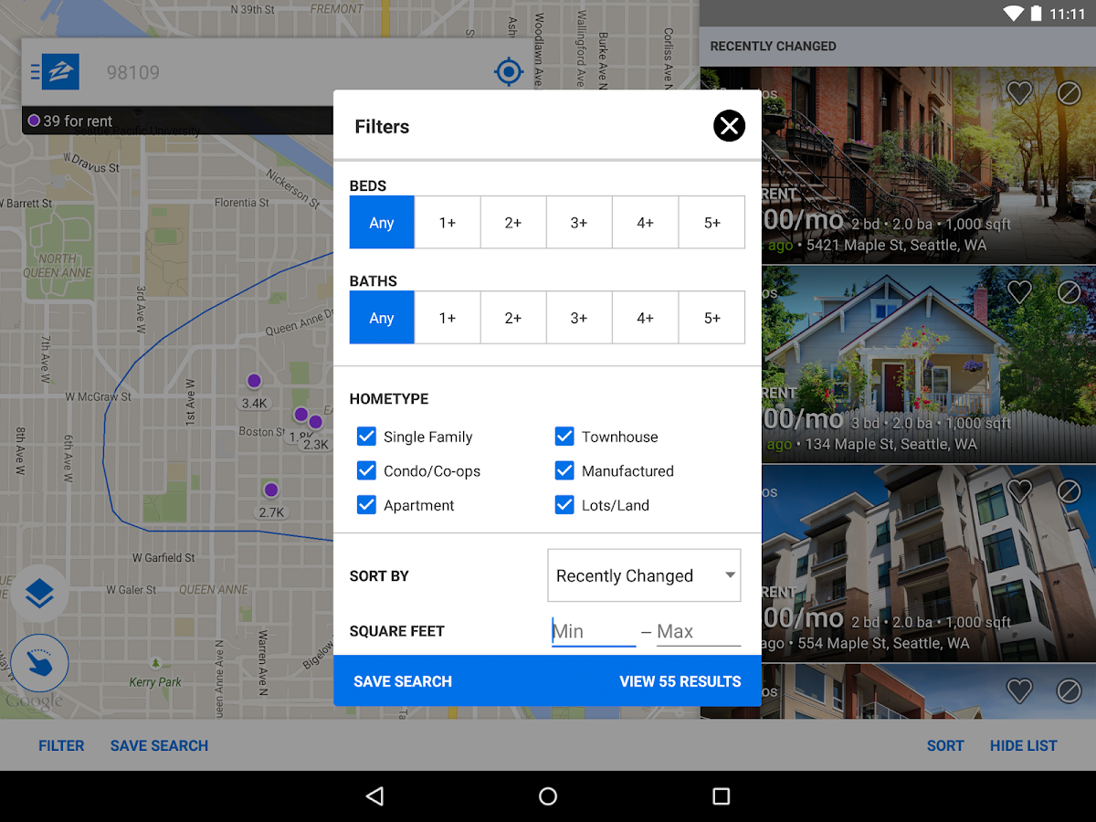 Apartments  Rentals  Zillow  Android Apps on Google Play