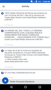 Radio Catracha Honduras screenshot 1