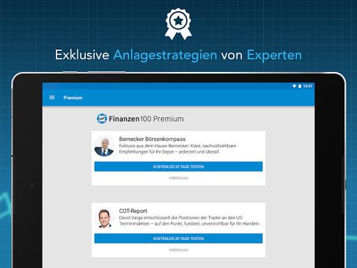Finanzen100 - Börse, Aktien & Finanznachrichten  screenshots 12