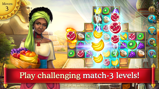 Cradle of Empires Match-3 Game apkpoly screenshots 1