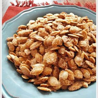 Sugar & Spice Roasted Pumpkin Seeds
