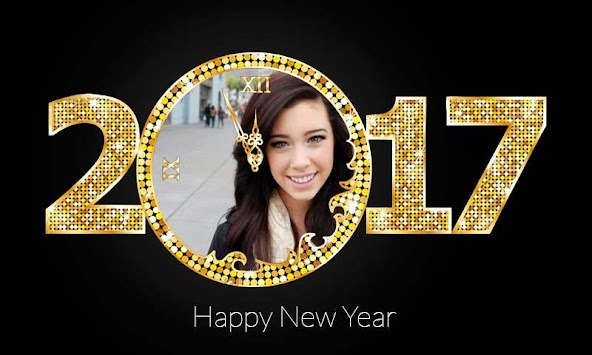New Year Photo Frame 2017 APK screenshot thumbnail 1