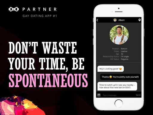 Partner: gay dating app & chat online for hot guys 0.0.97 screenshots 7