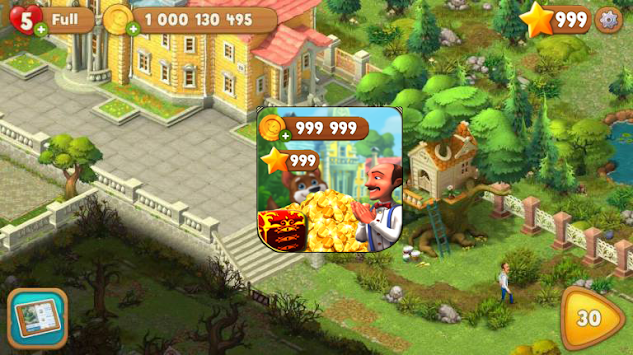 Free Gardenscapes Tricks : Coins & Stars Tips