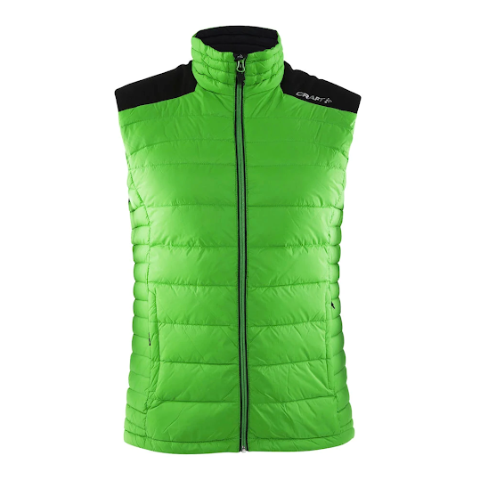 Craft Light Down Vest Herr - Green Stl M