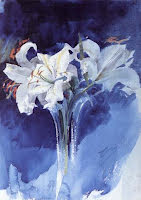 Vita liljor
