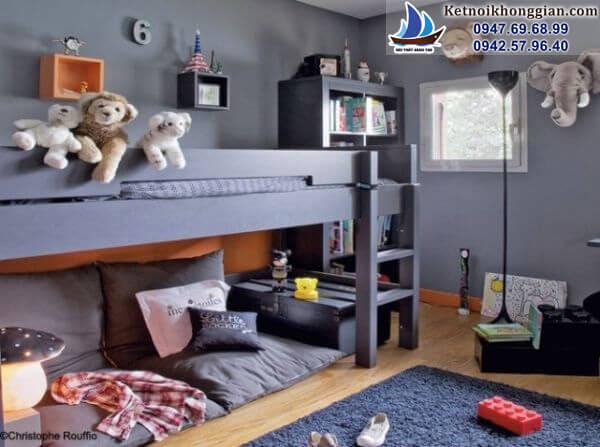 thiết kế phòng ngủ cho bé hợp lý