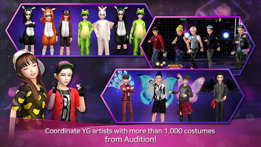LINE Audition With YG 1.0.1.0 screenshots 5