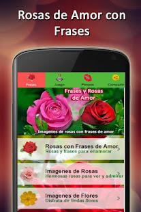Rosas De Amor Con Frases Fondo Apps Bei Google Play