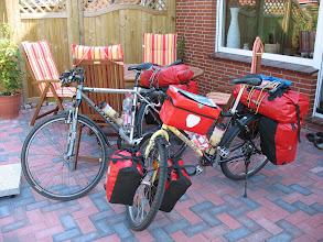 Photo: Mit Sack und Pack