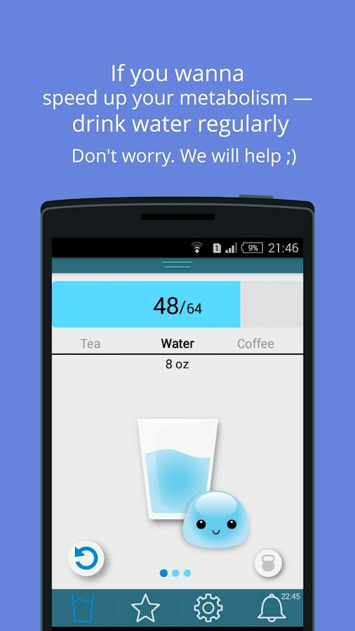 Water Time Pro: drink reminder- screenshot