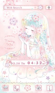 フラワリーキス~さくら~かわいい壁紙アイコン無料のおすすめ画像5