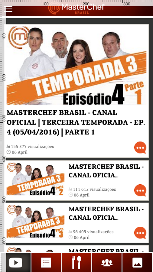 Masterchef BR- screenshot