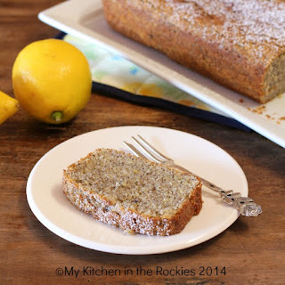 French Yogurt Cake with Lemon and Poppy Seeds