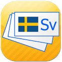 Swedish flashcards icon