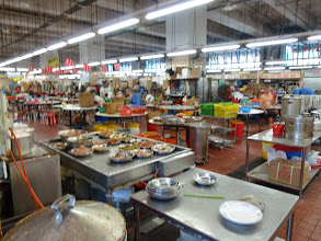 Photo: A food court inside the market