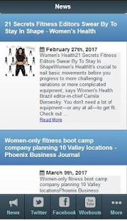 Womens Fitness Tips- screenshot thumbnail