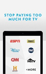 Sling TV: Stop Paying Too Much For TV! APK screenshot thumbnail 6