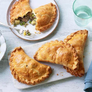 Lamb and Mint Pasties with Quick Apple Pickle Recipe