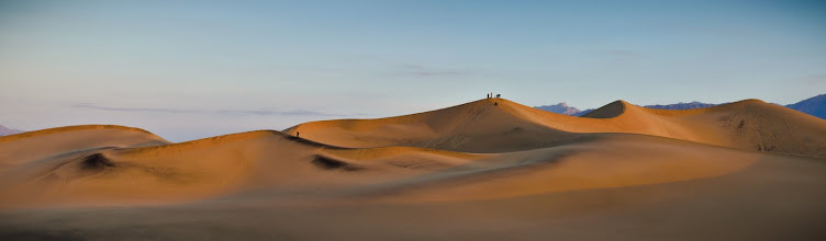 Photo: Mesquite Flat Dunes, Death Valley, CA.  11:00pm Arrive in Las Vegas 04:45am Arrive at Phoenix Inn, rendezvous with other photogs 5:30 arrive at San Dunes, (begin hiking!) 07:21am Attempt to capture this beautiful place.  #DV2011 #DV2011_RicardoLagos  NOTE: Image was updated.