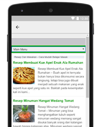 resepdanmasakan 1.1 screenshots 2