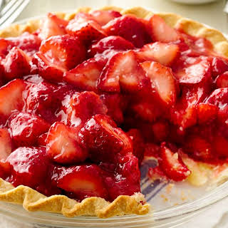 Fresh Strawberry Pie.