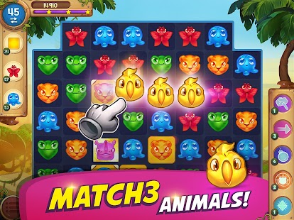 Animal Drop Safari - a match-3 game Hack for the game