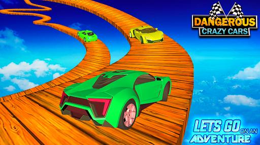 Impossible Dangerous Tracks Real Crazy Cars Stunt  captures d'écran 2
