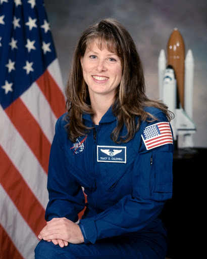 Official portrait of astronaut candidate Tracy Caldwell