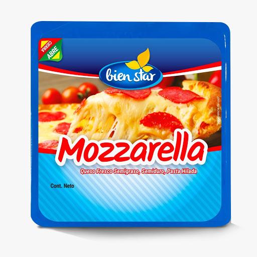 Queso Bien Star Mozzarella 220Gr Bien Star Queso