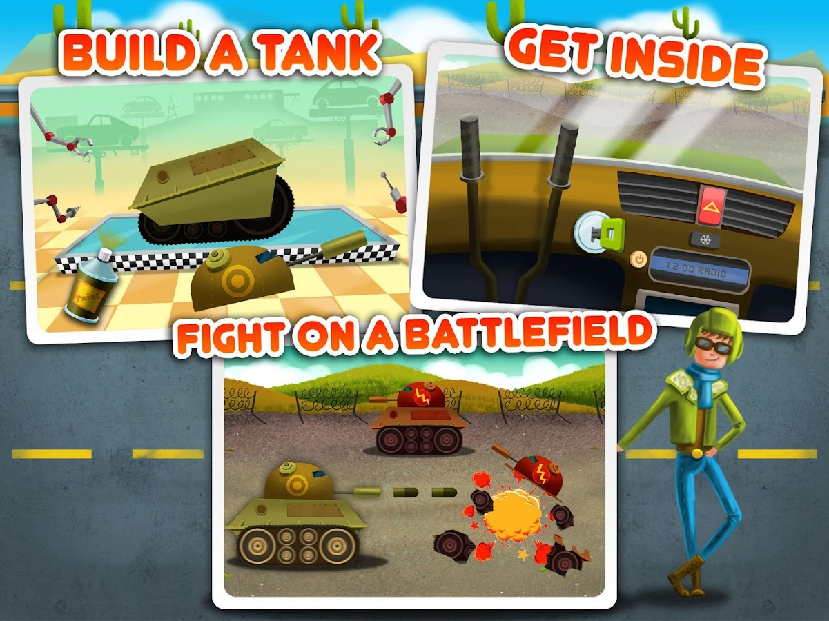 Car Builder 3 Mad Race Android Apps On Google Play