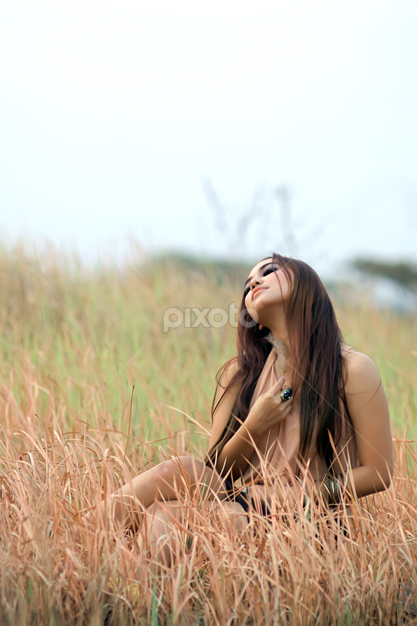 Thinking of You by Bagus Radhityo - People Portraits of Women