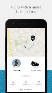 Uber screenshot 03