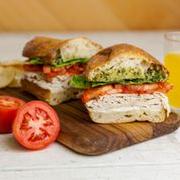Turkey Pesto Half Sandwich