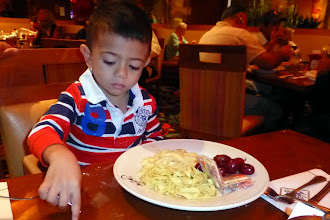 Photo: Grant wanted his naked pasta