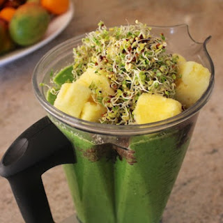 Broccoli Sprout Smoothie.