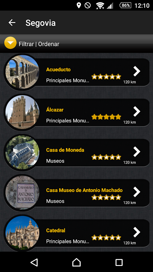 Be Your Guide - Segovia- screenshot
