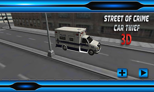 玩免費賽車遊戲APP|下載3D Streets of Crime: Car Thief app不用錢|硬是要APP