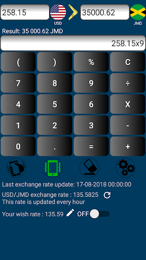 Us Dollar To Jamaican Jmd Usd Screenshot 4