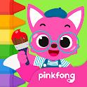 Pinkfong Coloring Fun icon