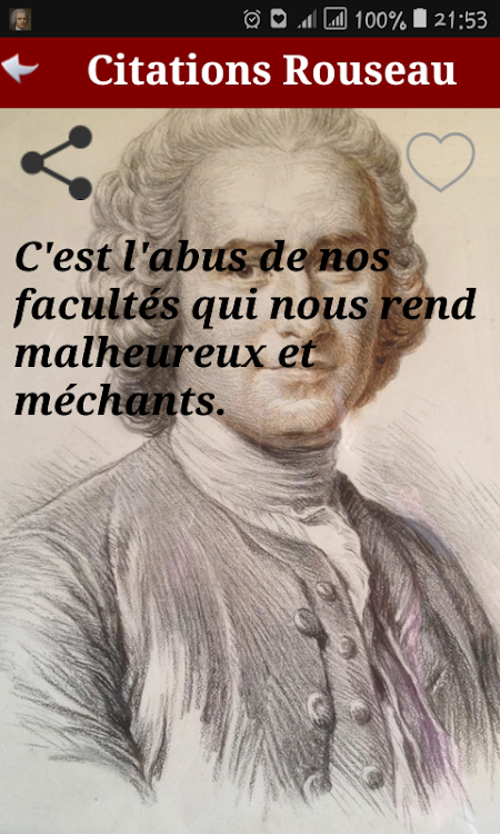 Citation Jean Jacques Rousseau Android Apps Appagg