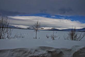 Kuva: Porojärven laakso Porojärven kämpältä kuvattuna