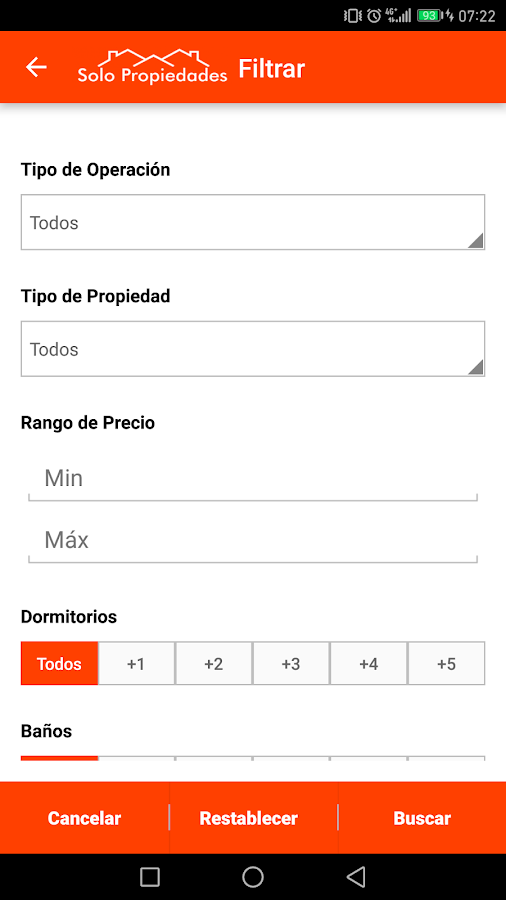 SoloPropiedades Argentina- screenshot