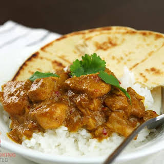 Slow Cooker Peanut Chicken Curry.