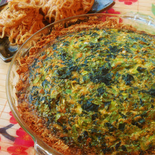 EGG FOO YOUNG QUICHE.