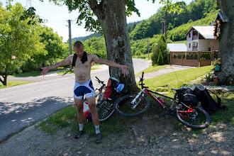 Photo: Opalenizna to efekt czterech dni na rowerze w pełnej lampie ;)
