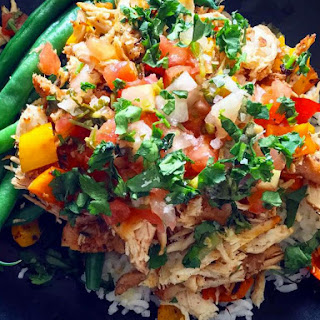 Salsa Verde Slow Cooker Chicken