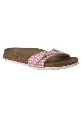 Birki's MENORCA Hausschuhe rosa:Camel sandalen