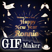 New Year HD GIF Maker 2018 icon